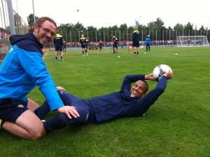 Rehabträning Martin Olsson